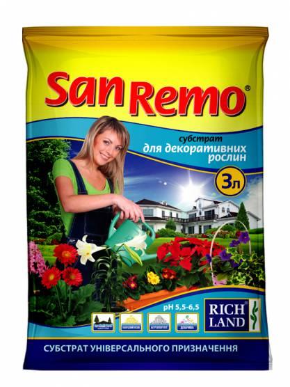 San Remo Субстрат для декоративних рослин