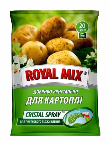 Royal Mix сristal spray для картофеля