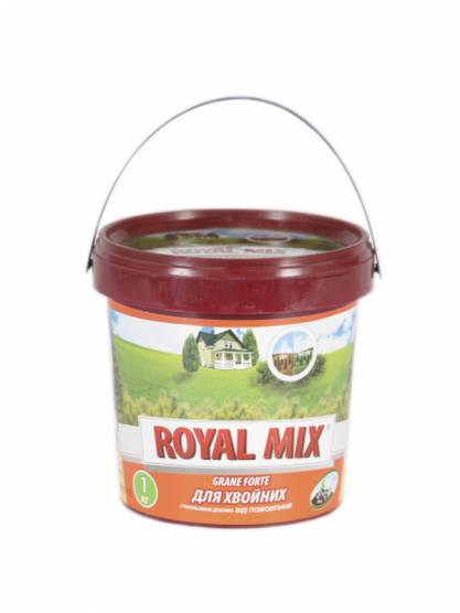 Royal Mix Grane forte для хвойных от пожелтения