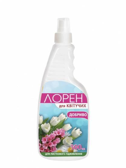 Лорен для листкового підживлення з лікувально-профілактичним ефектом для квітучих