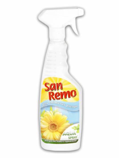San Remo Aqua Spray добриво для квітучих рослин