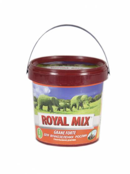 Royal Mix Grane forte для вечнозеленых