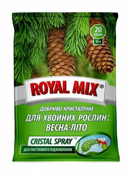 Royal Mix сristal spray для хвойних рослин: весна-літо