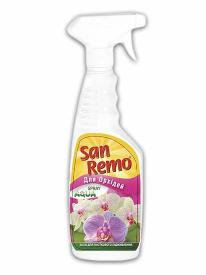 San Remo Aqua Spray удобрение для орхидей