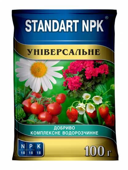 Standart NPK Комплексне водорозчинне добриво Універсальне