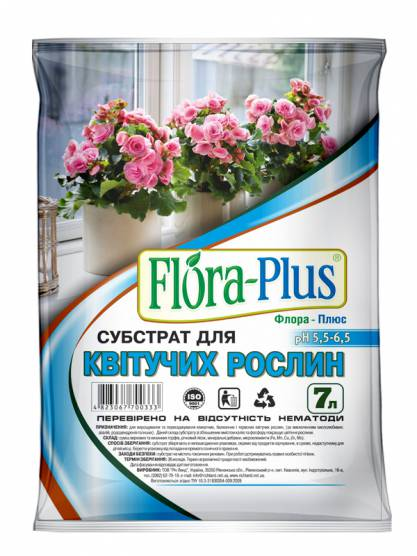 """""""Flora Plus"""" для квітучих рослин"""