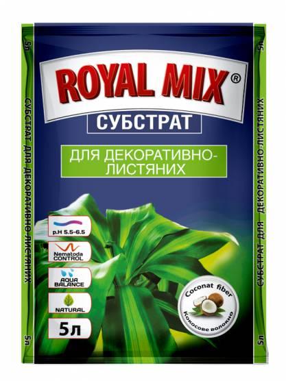 """Royal Mix"" Для декоративно-лиственных"