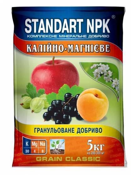 Standart NPK Комплексне мінеральне добриво Калійно-магнієве