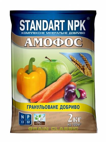 Standart NPK Комплексное минеральное удобрение Амофос