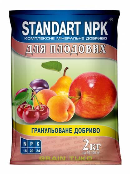 Standart NPK Комплексное минеральное удобрение для плодовых деревьев