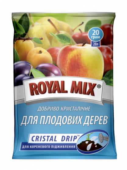 Royal Mix cristal drip для плодовых деревьев