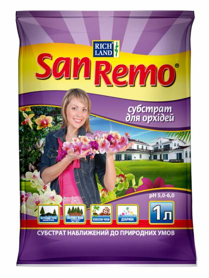 SanRemo Субстрат для орхідей